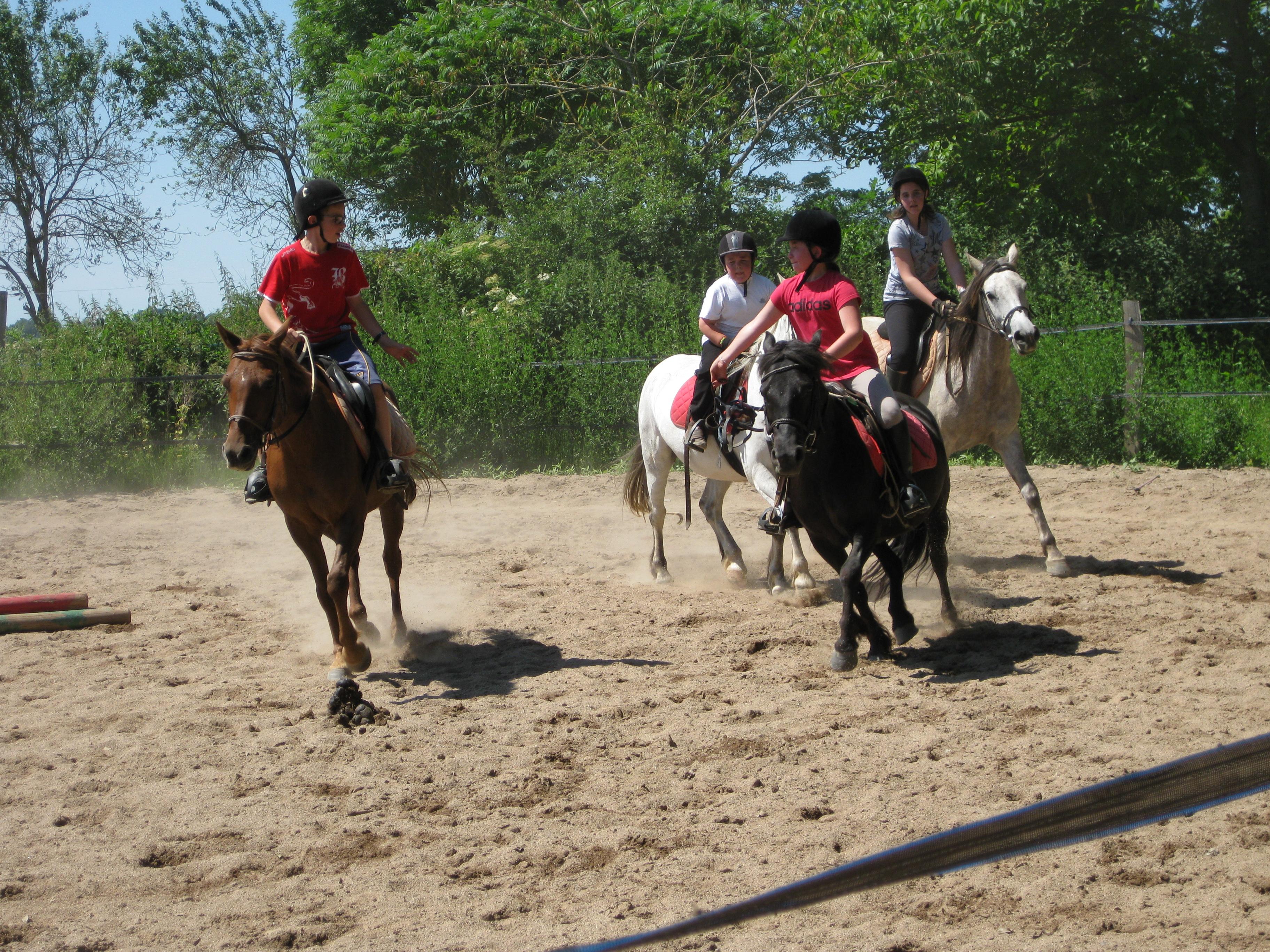 jeux à cheval